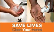 save lives clean your hands